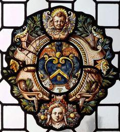 Armes de la famille Fremy, 1620-1624. -- Verrière, musée d'Art et d'Histoire Saint Loup, Troyes, photo Denis Krieger.