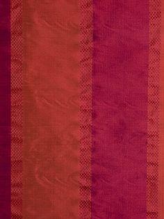 Fabricut Pink Silk Striped Fabric - Gavotte - Spice Market $97.99 per yard at DecoratorsBest #decor #exotic #interiors