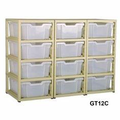 Gratnells 12 Tray Storage Units
