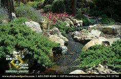 Ponds, water gardens, water features, waterfalls