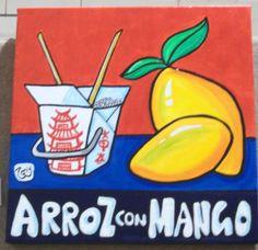 Que arroz con mango!