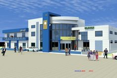 Projet de construction d'un espace commercial a Lome au TOGO
