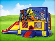 The best Halloween bounce house rentals in the Houston area. Reserve a moonwalk for your next Halloween costume party. Reserve yours online today!