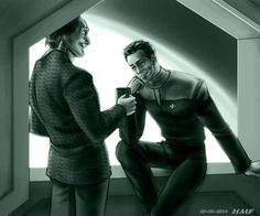 Collegues - MissHammer - Star Trek: Deep Space Nine [Archive of Our Own]