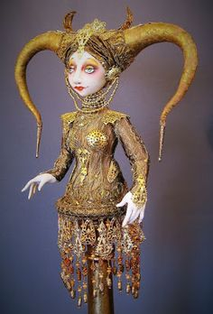 Witch Crafts: NEW CANDLESTICK DOLLS