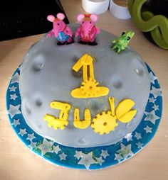 Clangers Birthday Cake