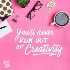 Today is the day to remember that you'll never run out of creativity. As studio owners it's easy to get caught up comparing yourself or worrying that you're maybe not doing enough. This can leave you tired and burnt out. Give yourself permission to celebrate the little successes you're having along the way. The more you focus on being the best version of your authentic self and creating your studio culture from your vision and mission, the more energy and enthusiasm you will have.