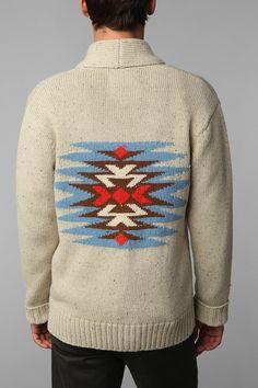 Pattern sweater by OBEY