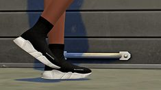 Balenciaga Speed Trainer Shoes for The Sims 4