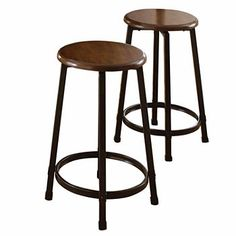 Bar Stools, Swivel Counter Height Bar Stools