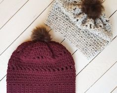 Crochet Brickhouse Beanie Pattern