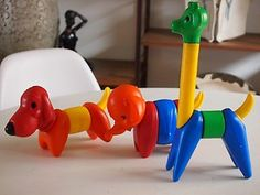 1960's toys - Google Search  These were from Tupperware.  My kids had them in the late 70's.