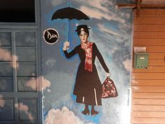 Mary Poppins Graffiti