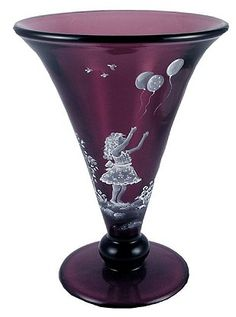Fenton Glass Aubergine - www.collectiblesrome.com