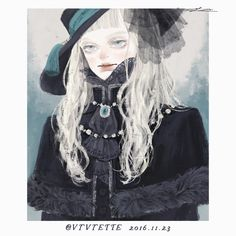 "24 Likes, 1 Comments - ツツイ モモエ(Tsutsui Momoe) (@vyvyette.ipl) on Instagram: ""2016.11.23 #絵 #イラスト #イラストレーション #illustration #artwork #art #girl #original #fantasy"""