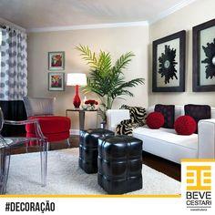 Cores fortes e contrastantes para uma sala cheia de personalidade. Qual estilo combina mais com você?