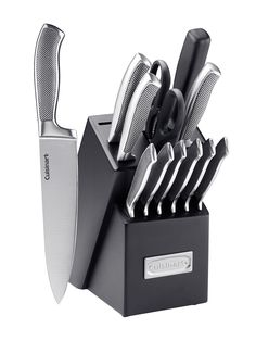 Cuisinart Graphix Collection Stainless Steel Cutlery Block Set (13 PC)