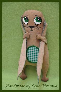 Заяц Игнат - подарок,оригинальный подарок,авторская игрушка,интерьерная игрушка