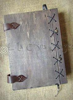 Libreta de madera reutilizable Estrella de Acuario