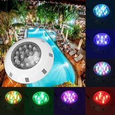 New Rgb Outdoor Lighting Led Swimming Pool Light Remote Control Ac 12v Pond Lights Led Piscina Led Ip68 54w Underwater Lamp Comfortable Feel Led Underwater Lights Led Lamps