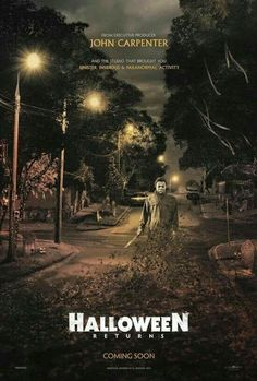 Halloween 2017- I cannot wait! Hopefully it won't be all Rob Zombie fuckin stupid like the last one.