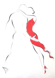 58 trendy Ideas for dancing drawings tango Dancer Tattoo, Dancer Drawing, Tango Art, Tango Dancers, Dancing Drawings, Laser Cut Panels, Dress Painting, Dance Paintings, Deep Art