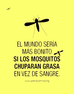 """The world would be most beautiful if mosquitoes sucked no blood but fat"" 😂 😂 😂 lol Wise Quotes, Funny Quotes, Inspirational Quotes, Spanish Jokes, Spanish Grammar, Spanish Language, Lol So True, Badass Quotes, Laugh Out Loud"