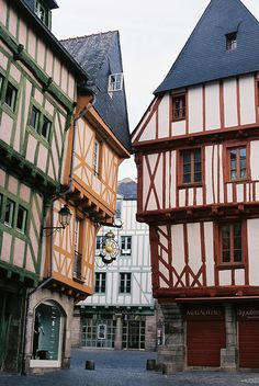 Vannes, Morbihan. Brittany