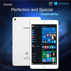 "CHUWI Hi8 Pro 8"" IPS Windows10&Android 5.1 32GB(2G) Intel Quad Core Tablet PC EU #CHUWI"