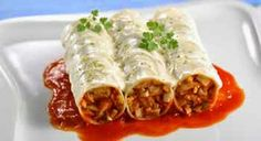 Canelones de atún para diabéticos. Exquisitos!!!!