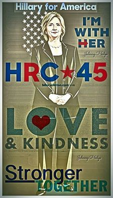VOTE FOR HILLARY!!  She's going to be a FANTASTIC Madam President!  #VoteBlueAlways