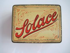 Excited to share the latest addition to my #etsy shop: Solace hand made cigarette tin (50) by Cope Brothers & Co Ltd c.1895 http://etsy.me/2nYf5nV #vintage #collectables #cigarettetins #tobaccocollectibles