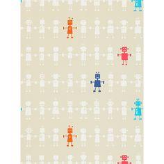 Buy Harlequin Reggie Robot Wallpaper online at John Lewis