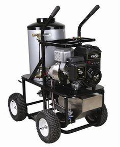 Simpson King Brute KB3030 3,000 PSI Briggs & Stratton Gas/Diesel Powered Hot Water Heavy Duty Pressure Washer