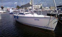 """""""Ustka"""" – tak nazywa się nowy jacht Marynarki Wojennej RP. Jacht wchodzi w skład """"floty jachtów"""" Ośrodka Szkolenia Żeglarskiego Marynarki Wojennej w Gdyni. #Ustka24Info"""