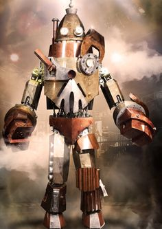 Just watched the first episode of this new show called Robot Combat League - it is AWESOME! Humans control giant robots and they fight each other. My dreams have come true.