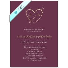 Free Printable Engagement Party Invitations. Customize online and instantly download your PDF file. coprinted.com