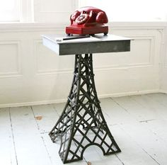Eiffel Tower Table at Graham and Green