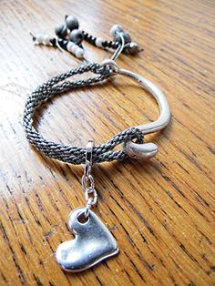 Kumihimo weave bracelet.