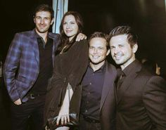 Oh look at them ♡♡♡ Eoin, Jill, Scott and Freddy ♡♡♡