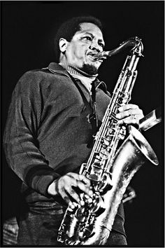 Illinois Jacquet at the Bologna Jazz Festival in Italy, 1972