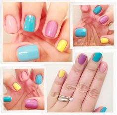 Easter Eggs: if only i had those nail polish colors