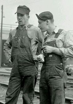 Working Men #overalls #denim #american