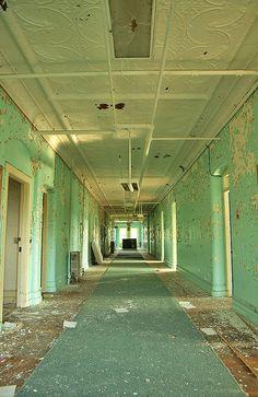 Abandoned Hudson River State Hospital