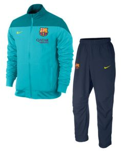 barcelona tracksuit turquoise FC Barcelona Official Merchandise Available at www.itsmatchday.com