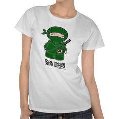 Irish Ninja! T-shirt $19.95