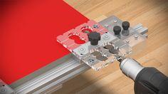 Sablon Minifix-3 Head & Shelving & Dowel Connection Jig