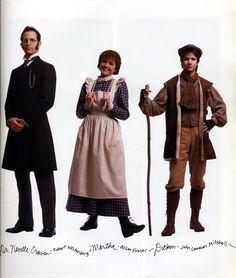 Simon & Norman's THE SECRET GARDEN, Broadway, 1991--Neville, Martha, Dickon
