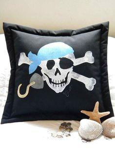 Bandana Pirate Pillow