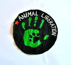 Punk Accessories, Vegan Patch, Anarchist Logo, Punk Logo, Githic Logo, Black Patch, Graphic Patch, Hardcore Patch   A totally handpainted product of my shop  ANIMAL LIBERATION PATCH..   Patchs dimensions: Diametre 14 cm  S H I P P I N G Your item will be shipped out either the same day or within 1-3 business days. We try to ship as soon as possible so you receive your item quickly. :)Each parcel ships from Hellenic Post registered to be safe route and there is no nearby lost during…
